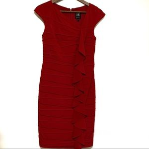 JAX Party/Cocktail Dress Red Size 6